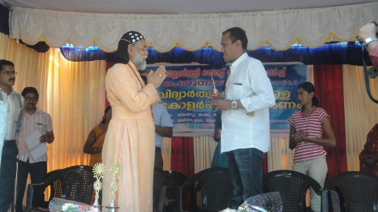 Manoj Coach of Sandhya honored2