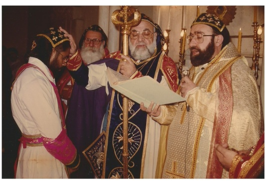 Being Consecrated as Metropolitan 1990