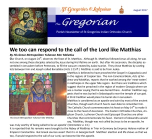 Gregorian on SGOC Lakeview Mississauga